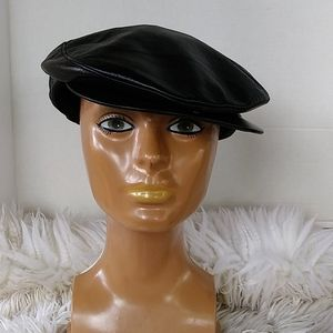 Other - PAGEBOY LEATHER MEN'S CAP LAMBSKIN